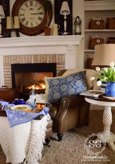 StoneGable: CREATING A COZY HOME