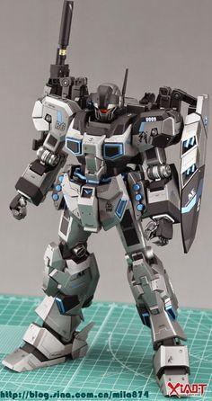 MG 1/100 RGM-96X Jesta - Customized Build Modeled by Yip毅