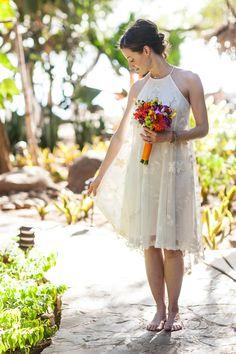 Photography: A Brit & A Blonde - abritandablonde.com  Read More: http://www.stylemepretty.com/destination-weddings/2014/01/09/costa-rica-destination-wedding/