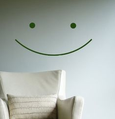 Big Happy Children Decor Smile Vinyl Wall Decal Sticker  great for photography studio and Dentist officesmiley face on Etsy, $19.00