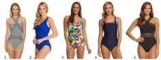 Cute full coverage swimsuits
