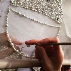 Tambour Beading, Tambour Embroidery, Couture Embroidery, Bead Embroidery Jewelry, Beaded Jewelry Patterns, Beaded Embroidery, Hand Embroidery Patterns Flowers, Hand Embroidery Videos, Hand Embroidery Tutorial