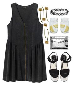 """""""boom"""" by nicole-pb ❤ liked on Polyvore featuring мода, Monki, Chanel, Topshop и Sur La Table"""