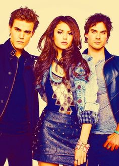 vampire diaries. :) :)I knew I should have never started watching this show... I am totally hooked!! Nothing like twilight.