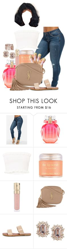 """Boy Bye."" by melaninprincess-16 ❤ liked on Polyvore featuring Victoria's Secret, Poetic Justice, Sara Happ, Smith & Cult, Yves Saint Laurent, Bonnibel and Plukka"