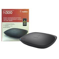 Belkin N300 300 Mbps 4-Port 10/100 Wireless N Router  #Belkin