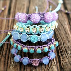 bracelets...kind of obsessed with these and the colors are my fav!