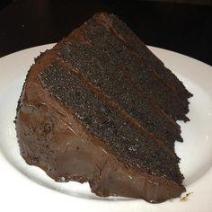 Chocolate cake at #bluemoosesportspub #chocolate #cake #chocolatecake #dessert