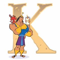Disney Alphabet - K for Kronk | Disney Alphabet Printables | Printables | Disney Family.com