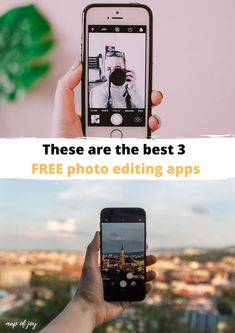 Make great pictures with your smartphone? These are the best 3 free photo editing apps you must have. Editing Apps, Photo Editing, North Europe, Vsco Filter, City Break, Great Pictures, Outdoor Travel, Lightroom, The Best