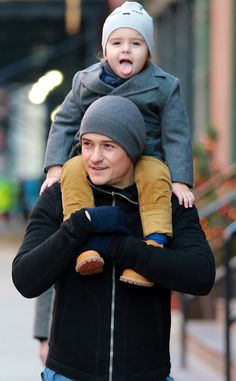 Orlando Bloom's son Flynn is always stealing the spotlight with his cuteness!--oh my gosh!!!!<3