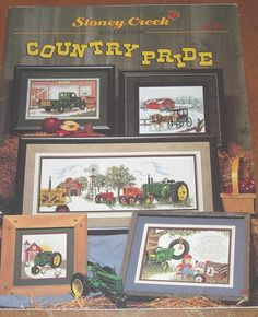Hey, I found this really awesome Etsy listing at https://www.etsy.com/listing/203188817/stoney-creek-country-pride-counted-cross