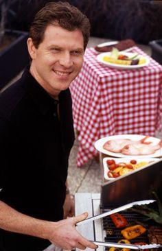 Bobby Flay. A definite grill master. #grillmaster #celebritychef #grilling | wrightsliquidsmoke.com |