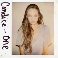 """Wild things book """"Models without makeup"""" polaroids of Douglas Perrett personal collection"""