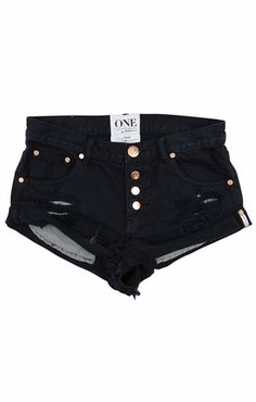 One Teaspoon Bandits shorts in London