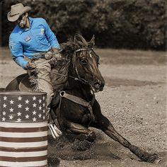 American barrel racing