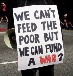 No More War.