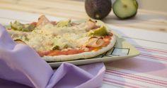 Pizza de aguacate y pavo (especial para embarazadas) - Todos los dias sale el SOLTodos los dias sale el SOL