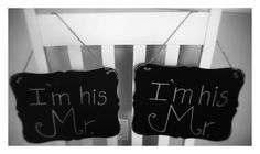 Very easy and cute chalk boards for weddings, specially when you want to personalize it! Wedding Officiant Indianapolis created this boards personally to include every single couple at my ceremonies. I go above and beyond!