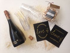 How to survive wedding dress shopping > > all the essentials. #weddings #weddingdress #champagne
