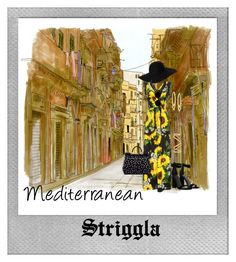 """Mediterranean"" by striggla ❤ liked on Polyvore featuring Polaroid, Monki, Dolce&Gabbana, Kendall + Kylie, Sonia Rykiel, Swarovski, Maison Margiela, chic, stylish and sunflowers"