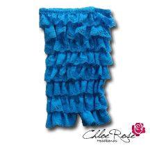 Turquoise Strapless Romper | Chloe Rose Headbands