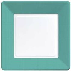 Coordinate Textured Square 7-inch Plates, Teal by Creative Converting. $3.49. Design is stylish and innovative. Satisfaction Ensured.. Manufactured to the Highest Quality.. Our Teal Coordinate textured paper plates are constructed from poly-coated board stock and have an elegant-textured border for a truly impressive table setting.