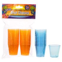 Nice bright tropical colored shot glasses! #DTGraduationParty