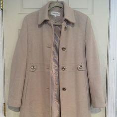 Calvin Klein coat Worn several times but in great shape Calvin Klein Jackets & Coats Pea Coats