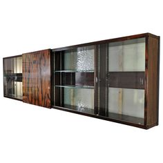 Vitrine for Nationale Suisse Insurance, Basel Switzerland   From a unique collection of antique and modern dry bars at http://www.1stdibs.com/furniture/storage-case-pieces/dry-bars/