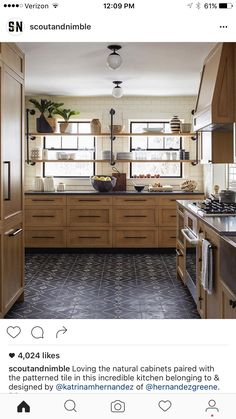 I love these cabinets & hardware
