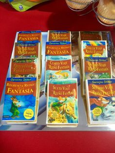 Galletas colección Reino de la Fantasía. Geronimo Stilton