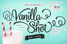 Vanilla Shot (66% off!) by Fenotype on @creativemarket