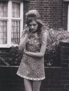 lily donaldson by alasdair mclellan for i-D magazine march 2007.