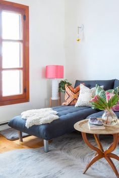This home is a vibrant mix of second-hand finds, DIY projects and things brought back from travels. It is filled with color, warmth and creativity.