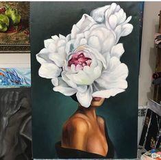 Oil Painting Flowers, Watercolor Paintings, Pencil Art Drawings, Art Studies, Texture Art, Portrait Art, Art Techniques, Female Art, Flower Art