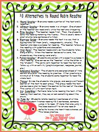 A list of 10 easy to implement alternatives to round robin reading ...