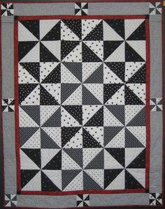 Pinwheel quilt - border