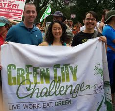 @techsavvynyc with @greencitychllng at the #PeopleClimateMarch,  @Peoples_Climate