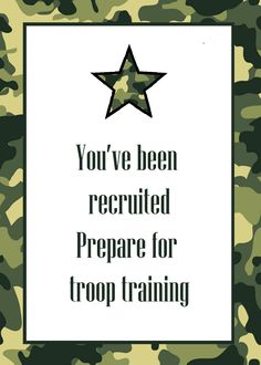 Army Theme Party Games will be a thrill for you and your guests to explore, especially if it is your first time trial.