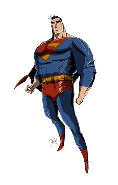 Os super-heróis em diferentes estilos de Franco Spagnolo - Para testar diferentes estilos, o ilustrador Franco Spagnolo fez diversas versões de heróis dos quadrinhos, cujo resultado parece ter sido obra de vários profissionais diferentes.