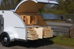 Particular interest in the rear hatch overlap to prevent rain ingress.