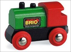 These wonderful trains with magnetic links and wooden tracks are perfect for young engineers.