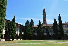 Santa Maria Novella - Church and Cloisters - Florence. Large Cloister.