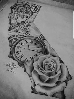 Ideas Tattoo Ideas For Guys Sketches Half Sleeves Pocket Watches For 2019 Gangster Tattoos, Dope Tattoos, Pretty Tattoos, Body Art Tattoos, Tattoos For Guys, Aztec Tribal Tattoos, Tribal Shoulder Tattoos, Mens Shoulder Tattoo, Aztec Art