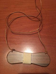 wood walnut papillion for woman
