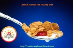 #Cereal like Granola does not look bad on the breakfast table. The #Granola, whole-grain oats are packed with high fiber and energy that support your digestive system. Nuts and seeds are a proven source of dietary fats, which are good for health. It's a healthy food just like yogurt, which are easily available in the #food stores.