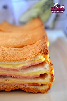 Cake, Ethnic Recipes, Food, Croque Monsieur, Hot Appetizers, Dish, Pie Cake, Meal, Cakes