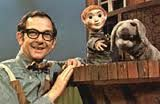 Mr Dressup!  I used to watch him every morning on the canadian channel!