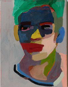 Anne-Sophie Tschiegg, ohne Titel, 2016 - Famous Last Words Art Works, Expressionist Art, Figure Painting, Painting, Oil Painting Inspiration, Art, Portrait Painting, Portrait Art, Portraiture Painting